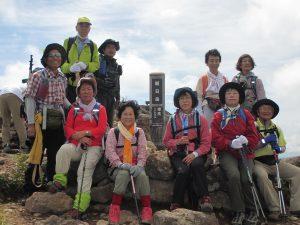 朝日岳登頂者
